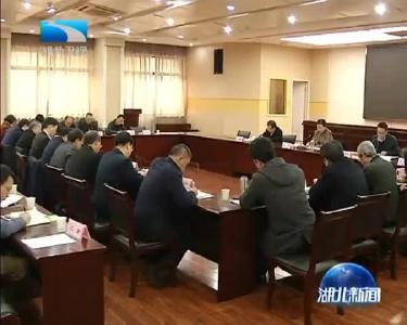 王艳玲强调开创湖北省文化文艺和哲学社科工作新局面