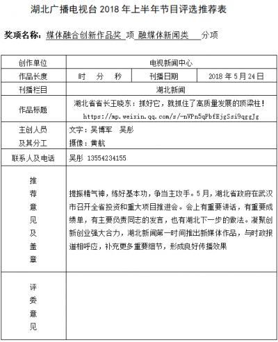 湖北省省长王晓东:抓好它,就抓住了高质量发展的顶梁柱!