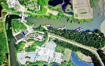 500米高空能看清地上杂志 湖北首次用高科技揪长江排污口