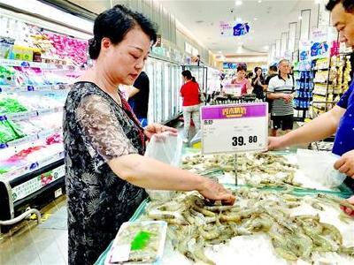 夏季丰产集中入市 基围虾市场进入性价比最高档期