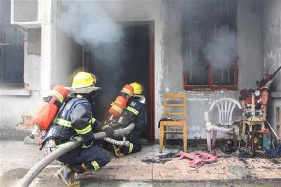 湖北8月火灾指数平稳下降 居住类场所火灾最多