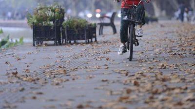 受地面冷空气南下影响 武汉今天阵风5级早晚凉爽