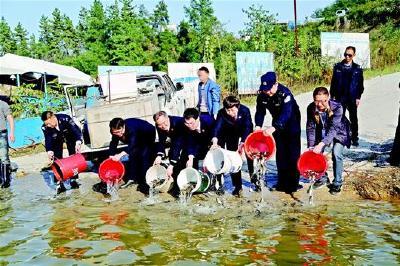 禁渔期内两次在丹江口库区非法捕鱼共169公斤 电鱼男子被判放流16万余尾鱼苗