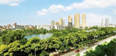 """荆州入列""""国家森林城市""""——绿意涌动荆江畔"""