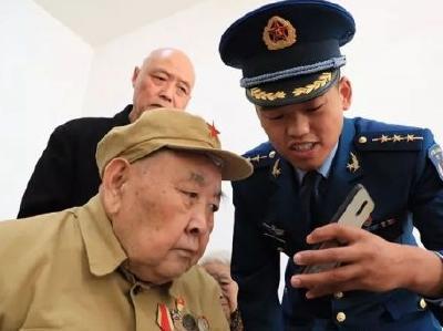 """湖北91岁老兵深藏功名60年,""""是否立功""""一栏永远只填""""无""""!"""
