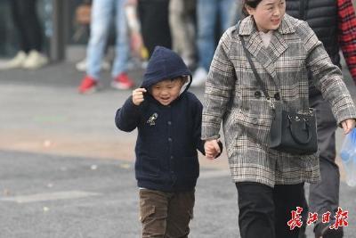 """武汉""""大雪""""不落雪,周末早晚冷冰冰白天渐升温"""