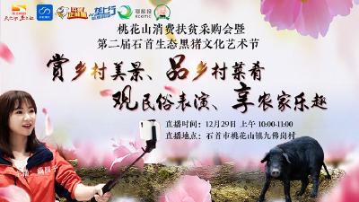 直播 | 看年猪、打年货、赏风景、观大戏 走进第二届生态黑猪文化节
