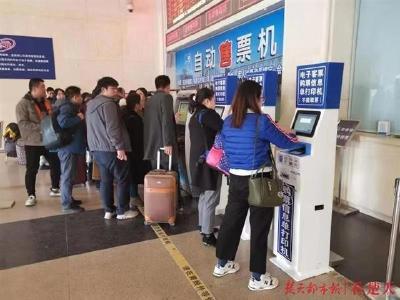 武铁春运售票首日共售车票52.3万张,近九成为手机购票