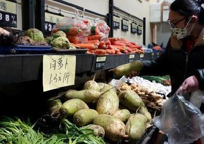 武汉市场白萝卜紧俏 多方努力畅通进货渠道