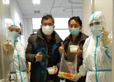 好消息!2名重症患者从武汉大学人民医院东院区康复出院
