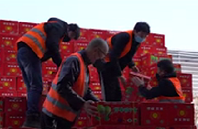 一方有难 八方支援 新疆爱心水果抵达武汉