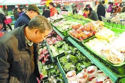 武汉白沙洲市场:保供防控两不误