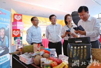 2020丰收节消费季启动 农村部副部长带头下单湖北藤茶