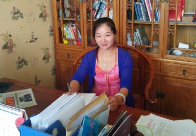 第三届武汉市大学生留汉农业双创大赛十二强项目负责人:余红梅
