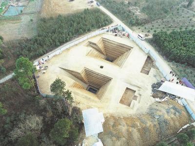 荆门沙洋发现一处楚国贵族家族墓地