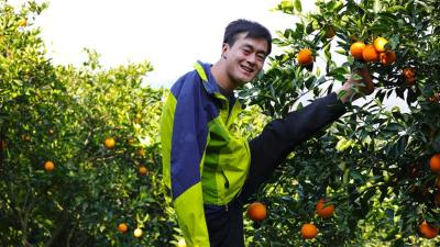 大山无臂青年荣获五四奖章,今年直播带货卖了10万斤橙子