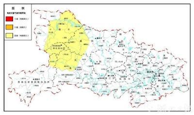 最新预警:鄂西北鄂西南地质灾害风险较大