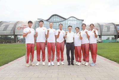 湖北首批9名奥运健儿出征东京
