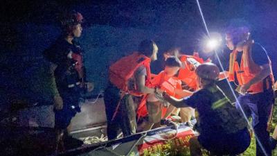 暴雨突降河水猛涨14名游客被困河滩 省应急厅发布安全提示