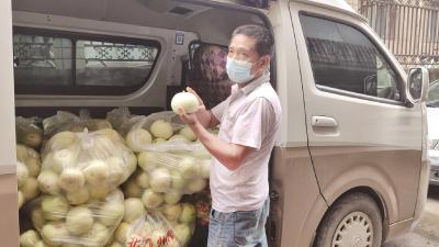 肢残瓜农近万斤香瓜滞销 爱心人士一天买走2000多斤