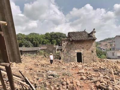 批准修缮的古建筑竟被拆除 大冶殷祖镇政府表示将追责