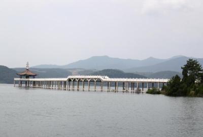 丹江口水库水位突破168米 10月上旬将蓄至170米
